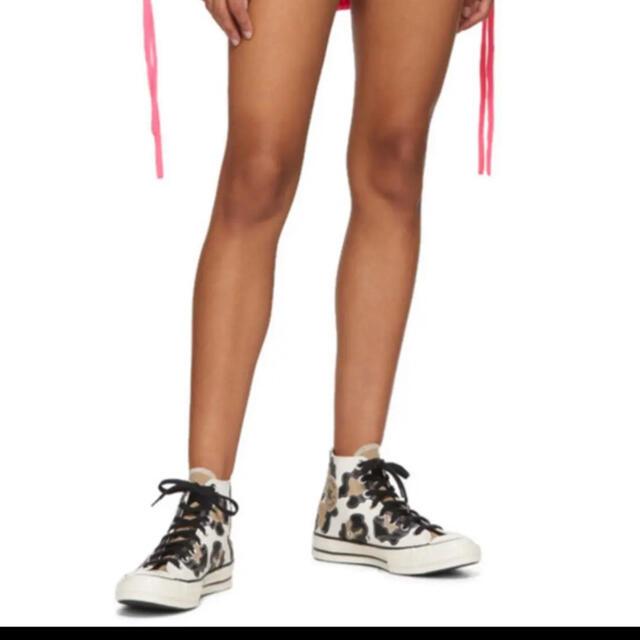 CONVERSE(コンバース)の即購入可新品 コンバース チャックテイラー ct70 23 レオパードハイカット レディースの靴/シューズ(スニーカー)の商品写真