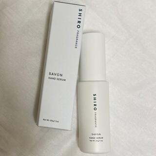 shiro - shiro savon handserum fragrance 30g