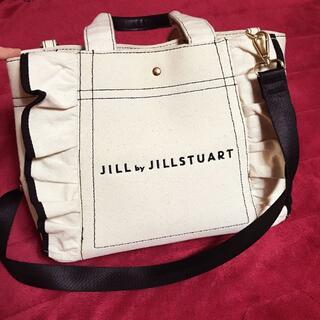 JILL by JILLSTUART - ジルバイジルスチュアート フリルトート大 ショルダーバッグ トートバッグ
