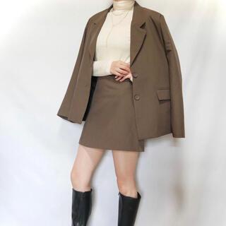 アングリッド(Ungrid)のjacket&mini setup ジャケット スカート セットアップ(テーラードジャケット)