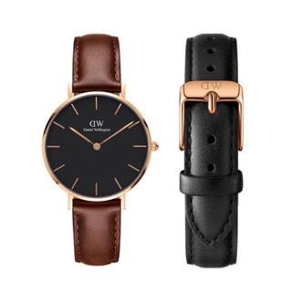 Daniel Wellington - 【32㎜】ダニエル ウェリントン腕時計DW169+ベルトSET〈3年保証付〉