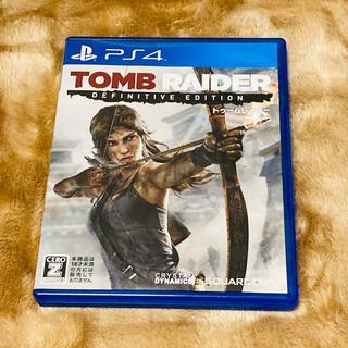 PlayStation4 - トゥームレイダー ディフィニティブエディション PS4