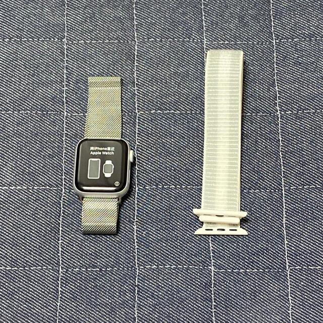 Apple Watch(アップルウォッチ)のApple Watch series4 NIKE 40 メンズの時計(腕時計(デジタル))の商品写真