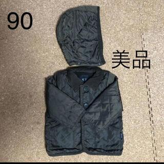 フィス(FITH)のフィス キルティングダウンジャケット カーキ90相当(ジャケット/上着)