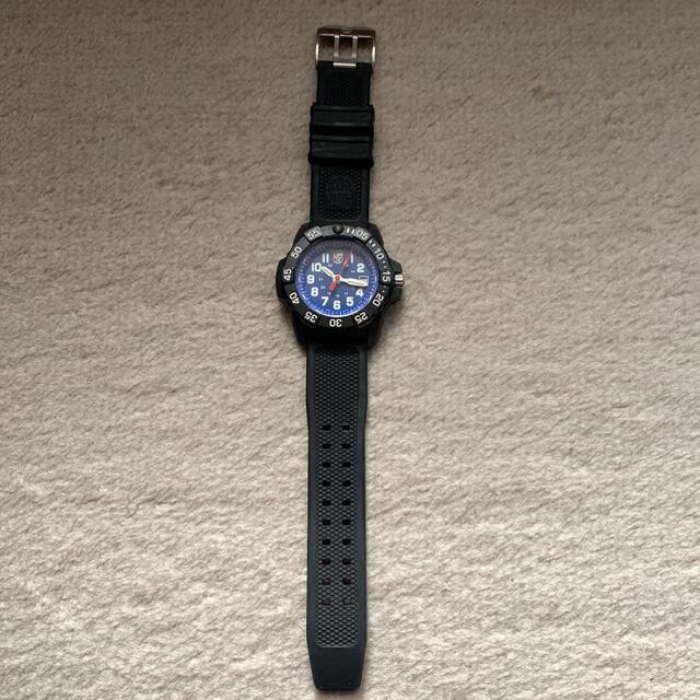 Luminox(ルミノックス)の傷有ルミノックス ネイビーシールズ 3500シリーズ ブルー×ブラック3503  メンズの時計(腕時計(アナログ))の商品写真