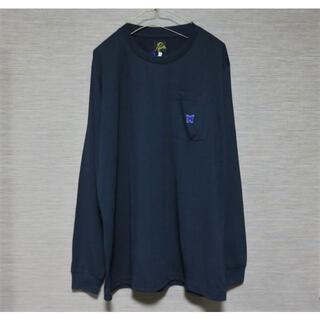 ニードルス(Needles)のNeedles L/S Crew Neck Tee Poly Jersey S (Tシャツ/カットソー(七分/長袖))