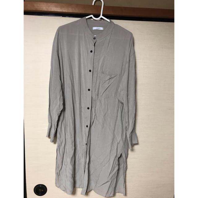 JEANASIS(ジーナシス)のJEANASIS ロングシャツ レディースのトップス(シャツ/ブラウス(長袖/七分))の商品写真