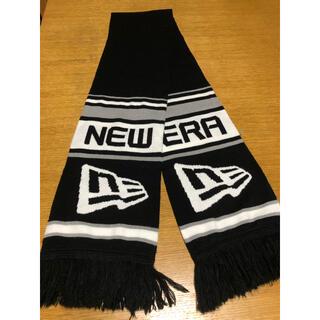 ニューエラー(NEW ERA)のニューエラ  マフラー ブラック/ホワイト(その他)