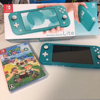 Nintendo Switch - Nintendo switch lite どうぶつの森セット