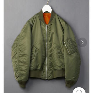 BEAUTY&YOUTH UNITED ARROWS - 6(ROKU) NYLON MA-1 JACKET/ジャケット