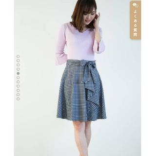 PROPORTION BODY DRESSING - 新品☆プロポーションボディドレッシング リボン フレアスカート