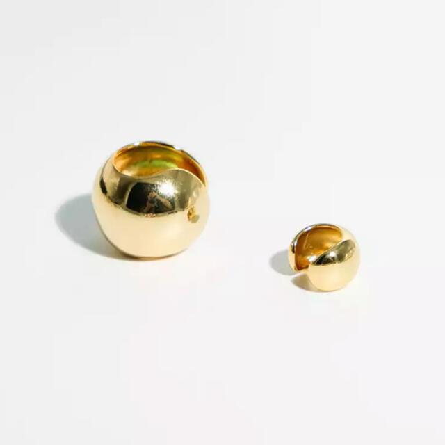 TODAYFUL(トゥデイフル)のBall earcuff gold S No.197 レディースのアクセサリー(イヤーカフ)の商品写真