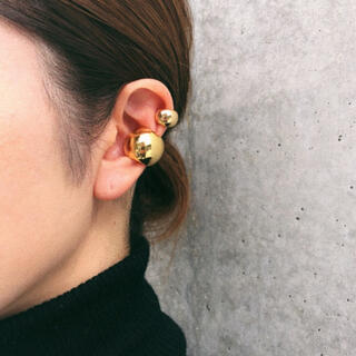 TODAYFUL - Ball earcuff gold S No.197
