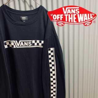 ヴァンズ(VANS)のVANS ヴァンズ チェッカーフラッグ L(Tシャツ/カットソー(七分/長袖))