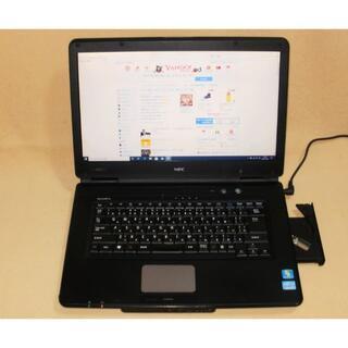 エヌイーシー(NEC)の★NEC 15型 i5-2430M Win10-Pro VersaPro★(ノートPC)