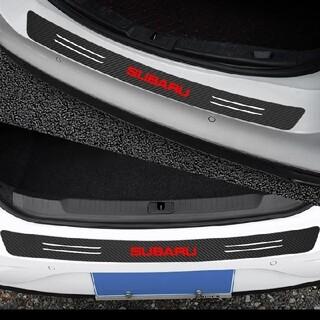 スバル(スバル)のスバルステッカートランクバンパーガードカーボーン(ブラック)値下げ(車外アクセサリ)