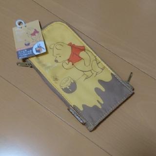 クマノプーサン(くまのプーさん)の【新品・未使用】ネオクリッツ フラット ペンケース プーさん(ペンケース/筆箱)