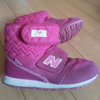 New Balance - 女児21センチブーツ