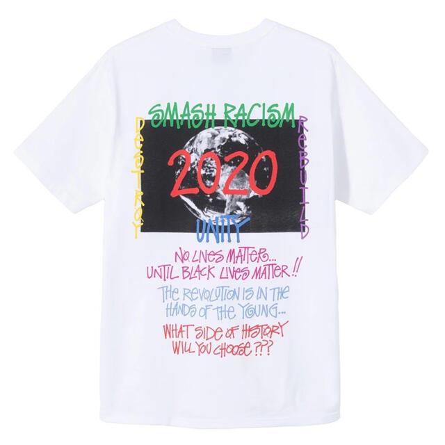 STUSSY(ステューシー)のStussy 40th Anniversary Tee White Lサイズ メンズのトップス(Tシャツ/カットソー(半袖/袖なし))の商品写真