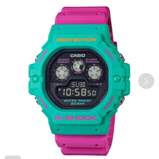 G-SHOCK - Psychedelic Multi Colors / DW-5900DN-3JF