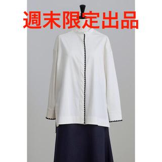Drawer -  【週末限定出品】yori ヨリ ハマグリ刺繍ブラウス 36