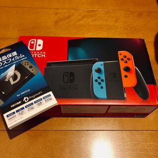 Nintendo Switch - 任天堂Switch ネオンレッド