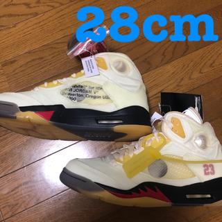 ナイキ(NIKE)の【BLAKE様専用】NikeAJ5 off White ジョーダン5 SAIL★(スニーカー)