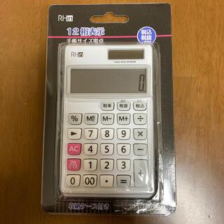 【新品未開封】12桁表示手帳サイズ電卓 (SL-5220WL)