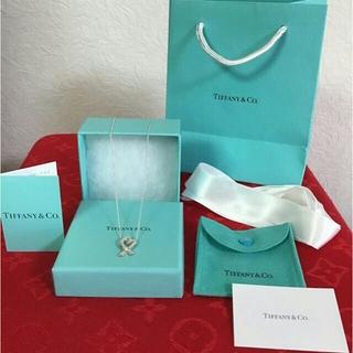 Tiffany & Co. - ティファニーラビングハート1Pダイヤモンドペンダントネックレス
