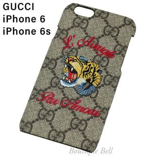 Gucci - 【GUCCI】グッチ GG スプリーム 虎柄 iPhone6/6s ケース