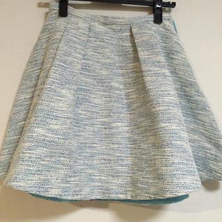 チェスティ(Chesty)のサマーツイード♡ブルースカート(ミニスカート)