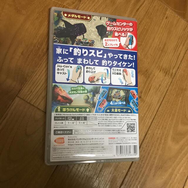 釣りスピリッツ switch エンタメ/ホビーのゲームソフト/ゲーム機本体(家庭用ゲームソフト)の商品写真