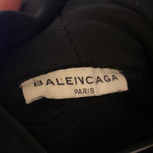 Balenciaga(バレンシアガ)のdude9 バレンシアガ キャンペーンロゴ パーカー  メンズのトップス(パーカー)の商品写真