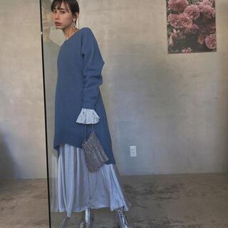 Ameri VINTAGE - 週末お値下げ!マーメイドタイト ニットドレス