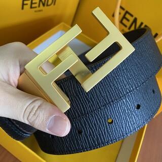 FENDI - フェンディFENDI ベルト メンズ 120CM 本革