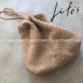 TODAYFUL - TODAYFUL【新品タグ付】Wool Pile Purse★ungrid
