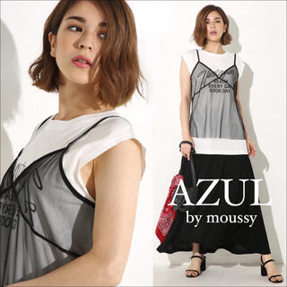 AZUL by moussy - AZUL by moussy シースルー キャミソール ビスチェ♡ザラ SLY