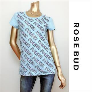 ローズバッド(ROSE BUD)のROSE BUD プリント Tシャツ*シップス BEAMS ユナイテッドアローズ(Tシャツ(半袖/袖なし))