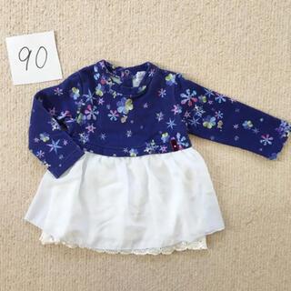 ハッカベビー(hakka baby)のハッカベビー チュニック  90(Tシャツ/カットソー)