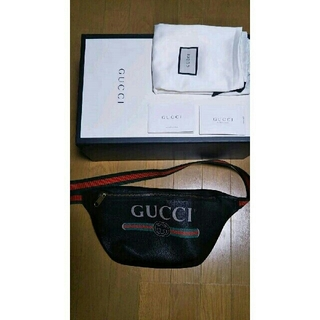 Gucci - GUCCI グッチ ロゴ ショルダーバッグ ボディバッグ ベルトバッグ スモール