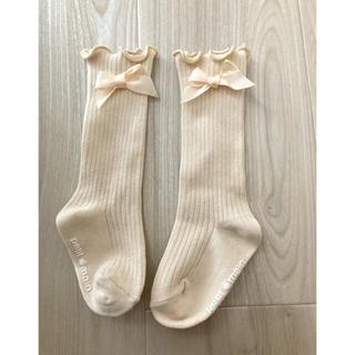 petit main - キッズ ベビー 靴下 女の子
