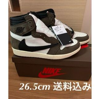 26.5cm NIKE TRAVIS SCOTT AIR JORDAN 1 (スニーカー)