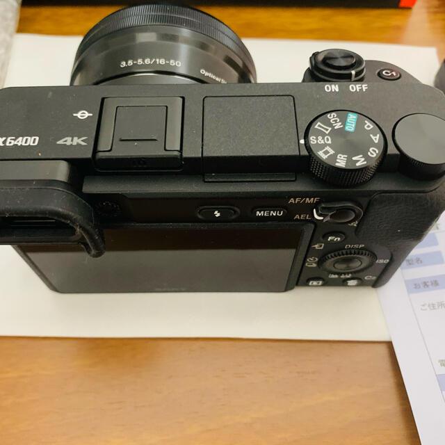 SONY(ソニー)の専用、他者購入禁止。sony α6400 ダブルズームレンズキット スマホ/家電/カメラのカメラ(ミラーレス一眼)の商品写真