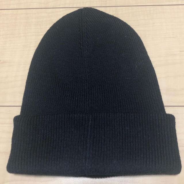 POLO RALPH LAUREN(ポロラルフローレン)のラルフローレン 黒色ニット帽 メンズの帽子(ニット帽/ビーニー)の商品写真