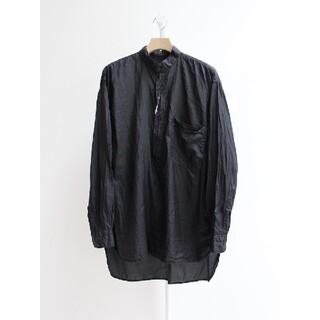 コモリ(COMOLI)のCOMOLI 20AW シルクプルオーバーシャツ Size3(シャツ)