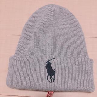 ポロラルフローレン(POLO RALPH LAUREN)のラルフローレン グレーニット帽(ニット帽/ビーニー)