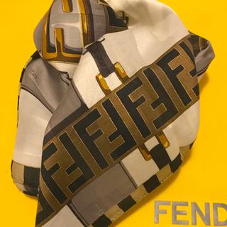 FENDI - 未使用フェンディ ハンカチスカーフ 大判 basic channel