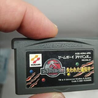 ゲームボーイアドバンス(ゲームボーイアドバンス)のGBA ジュラシックパーク 失われた遺伝子 ソフトのみ ゲームボーイアドバンス(携帯用ゲームソフト)