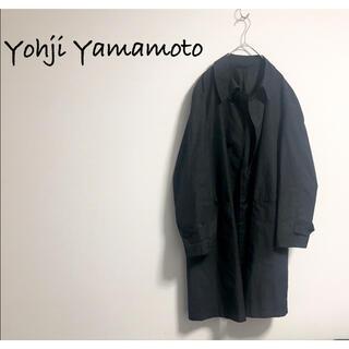 Yohji Yamamoto - 古着 Yohji Yamamoto A.A.R ステンカラーコート モード