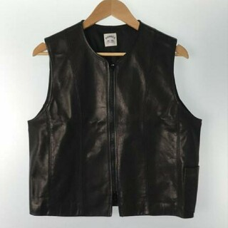 SUNSEA - SUMSEA/サンシー leather vest 20ss